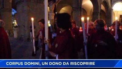 Folla al Corpus Domini in città Alta