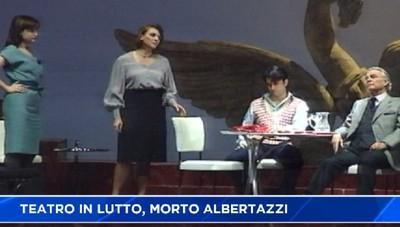 Teatro in lutto. Morto Giorgio Albertazzi, l'ultima volta a Bergamo nel 2012