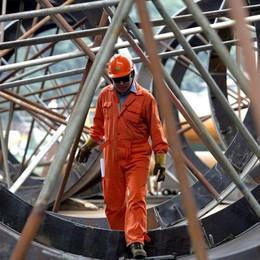 Bergamo, cresce la produzione industriale Ottimismo sul fronte dell'occupazione