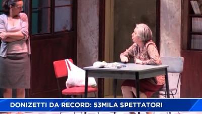 Donizetti. Stagione da record, il teatro vola...