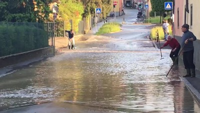Acqua alta a Valverde, è emergenza