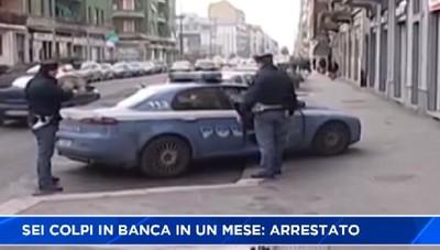 Rapina sei banche di Milano in un mese, arrestato, risiedeva a Brembate