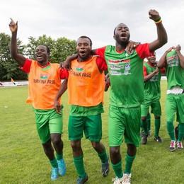 Il Burkina Faso concede il bis e fa festa a Bergamondo