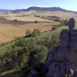 In volo sul cammino di Santiago Da Los Arcos a Belorado – Video