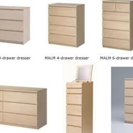 Ikea ritira la cassettiera Malm «È pericolosa». Ma solo per gli Usa