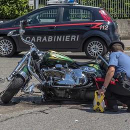 Harley Davidson contro Fiat a Telgate Motociclista 51enne in gravi condizioni