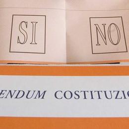 Referendum costituzionale Basso Sebino, via al comitato per il sì