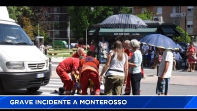 Bergamo, grave incidente a Monterosso