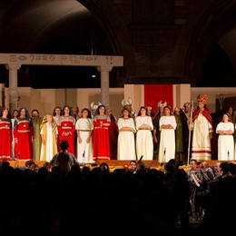 L'opera torna in Piazza Vecchia Lunedì col Ducato c'è l'Aida