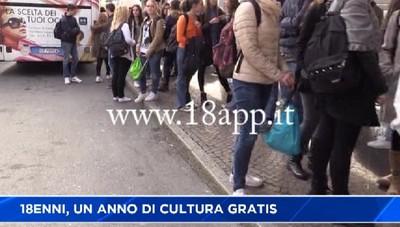 18enni e cultura, dal Governo un bonus di 500 euro