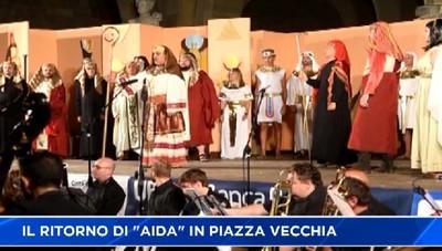 Lirica, l'Aida è tornata in Piazza Vecchia