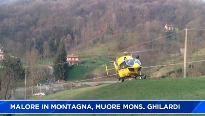 Malore in montagna: è morto Mons. Silvano Ghilardi