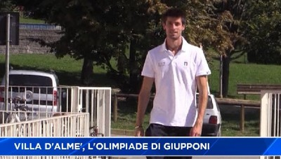 Da Rio a Villa d'Almè: l'Olimpiade di Matteo Giupponi