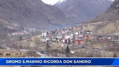 Gromo San Marino ricorda don Sandro Dordi
