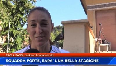 Paola paggi: squadra forte, ci toglieremo grosse soddisfazioni