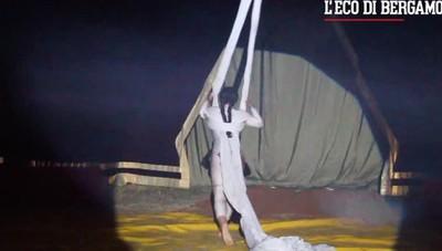Il circo Bellucci a Bergamo