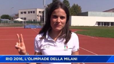Da Rio al Monterosso: l'Olimpiade di Marta Milani