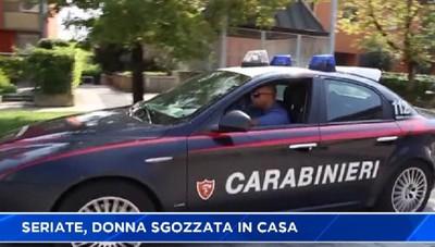 Omicidio a Seriate; sgozzata una donna di 63 anni