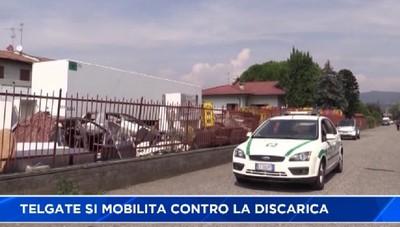 Firme contro la discarica di Telgate. E arrivano i Carabinieri