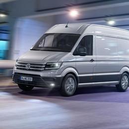 Volkswagen Crafter previene gli incidenti