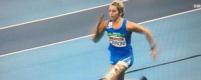 Un salto nella storia per Martina Caironi Argento nella finale del lungo - Video