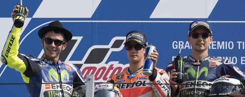 Rossi 2° dietro Pedrosa a Misano In Moto 3 il selvinese Locatelli sesto