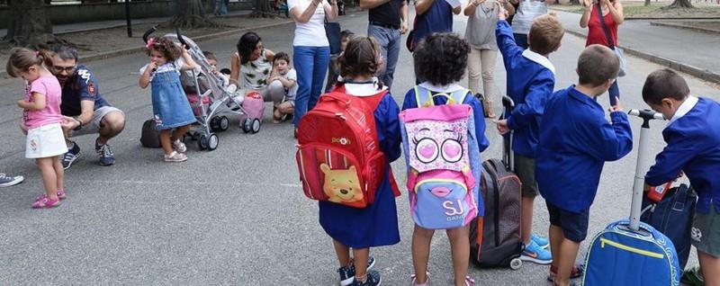 Ad Amatrice primo giorno di scuola L'edificio allestito in soli 14 giorni