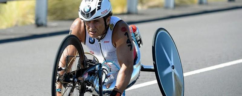 Capolavoro di Zanardi alle Paralimpiadi Medaglia d'oro nella gara a cronometro