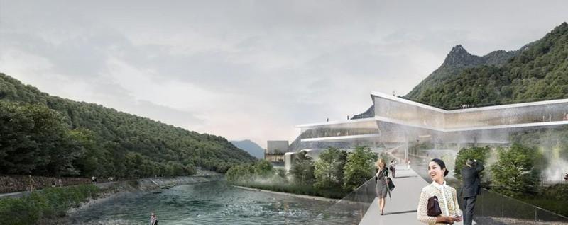 Sanpellegrino, ecco i 4 progetti L'acqua in tutte le forme - i rendering