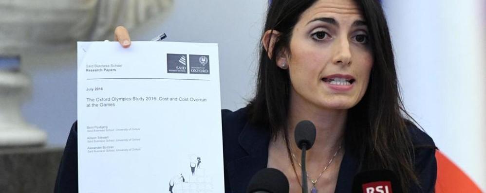 Risultati immagini per Raggi:No alle Olimpiadi immagini