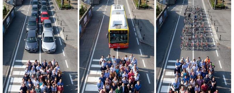 A Redona il Trittico di Münster Ecco quanto spazio sprecano le auto