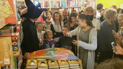 La notte di Harry Potter alla Libreria Fantasia