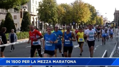 Bergamo, in 1500 per la Mezza Maratona