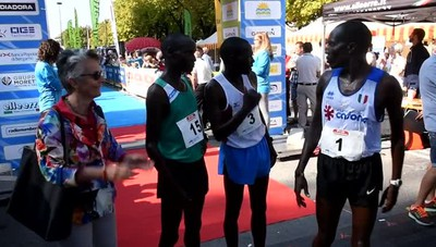 La mezza maratona di Bergamo
