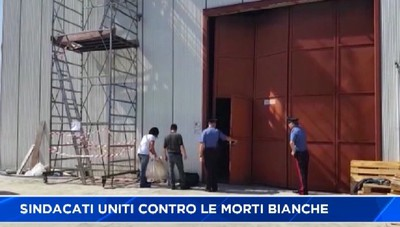 Bergamo, sindacati uniti contro gli infortuni sul lavoro