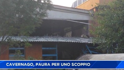Esplosione a Cavernago, area messa in sicurezza