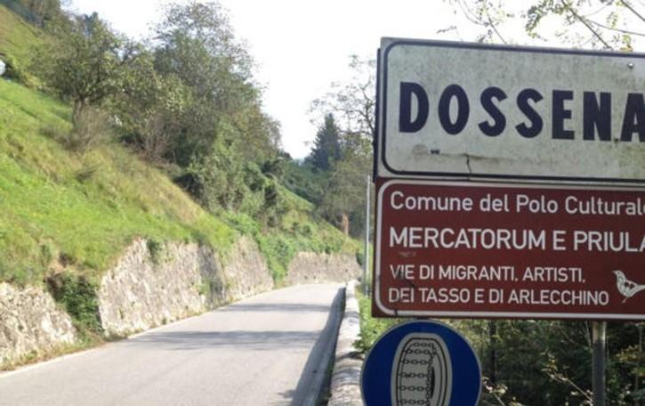Quel cartello di Dossena E il richiamo ai migranti