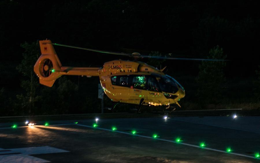 Incidente sul lavoro a 110 metri di altezza Fratture multiple per operaio bergamasco