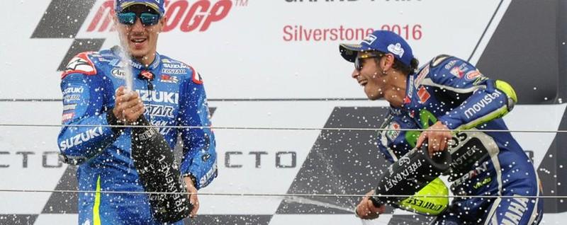 Vince Vinales, Suzuki ok dopo 9 anni Acceso duello Rossi (3°)-Marquez (4°)