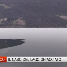 Ranzanico, appello del sindaco sui pericoli del lago ghiacciato