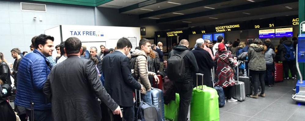 Orio al Serio, crescono i passeggeri Sono oltre 11 milioni: +7.26% nel 2016