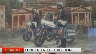 Bergamo - Operazione della Stradale contro le autofficine irregolari
