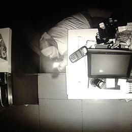 Ladro «acrobata» al ristorante  Ripreso e messo in fuga dai sensori