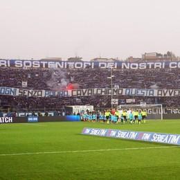 La Nord chiama a raccolta i tifosi «Tocca a noi, riempiamo lo stadio»