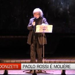 Teatro Donizetti, sul palco Paolo Rossi che reinterpreta Molière