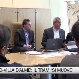 Tram tra Bergamo e Villa d'Almé. «Primo concreto passo in avanti»