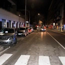 Incidente a Bergamo Auto contro moto in via Broseta