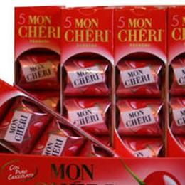 Rubano 23 scatole di Mon Chéri «Erano per la festa di compleanno»