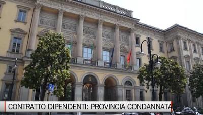 «Comportamento antisindacale, la Provincia restituisca i soldi ai dipendenti»