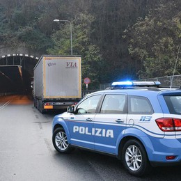 Incidente in superstrada a Nembro Traffico in tilt alla galleria Montenegrone